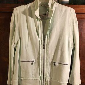 Two Dog Island long sleeve tee shirt and vest set